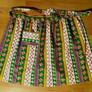 Other - 2 for $25 Vintage Apron Colorful Retro